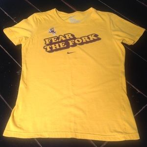 "NCAA ASU Sun Devils Nike ""Fear the Fork"" women's M"